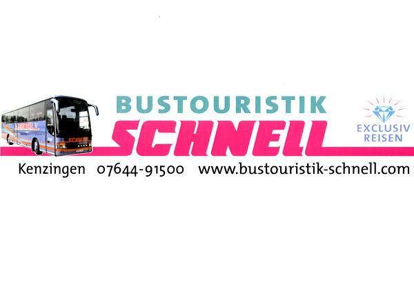 Bustouristik Schnell, Carl-Benz-Straße 7, 79341 Kenzingen, Tel. 07644 / 91500, Fax. 07644 / 915025