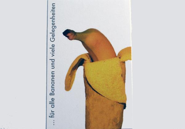 """Visitenkarte """"bananafix"""""""