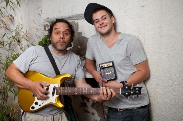 Tino Gonzales und Michi Oertel   Bildquelle: Pressebüro Freiburg