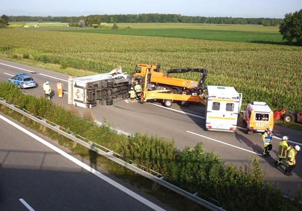 Verkehrsbehinderung A5
