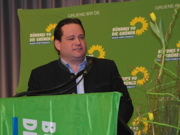 """Top-Act"": Minister Alexander Bonde"