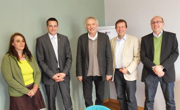 Offenburg: Grüne Landespolitiker zu Besuch bei LACON in Offenburg ...