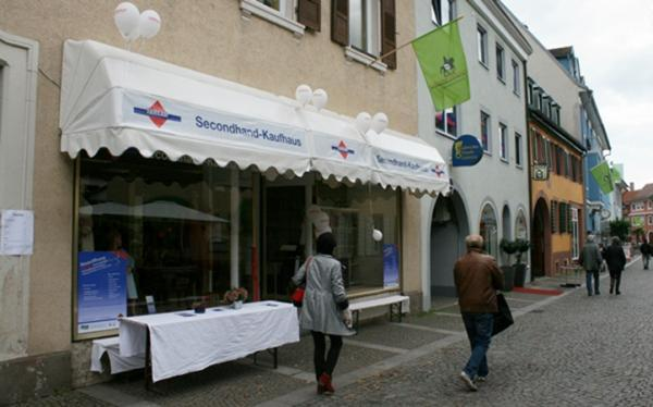 Emmendingen fairkauf second kaufhaus feiert offizielle for Emmendingen industrie