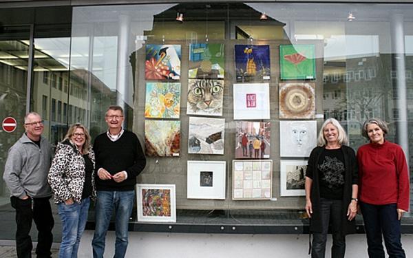 Von links: Markus Günther, Nadja Stolp, Wolfgang Straube, Hanne Günther und Paula Seeger