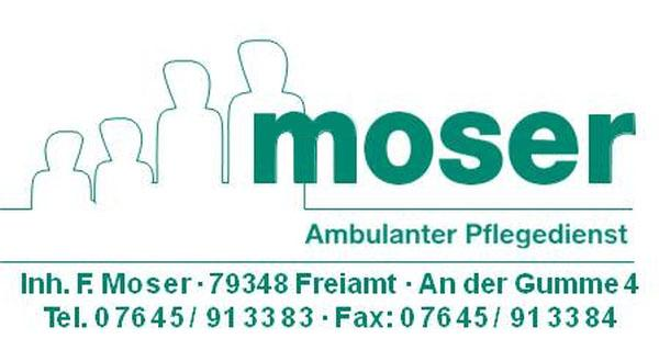 Pflegedienst Moser, An der Gumme 4, 79348 Freiamt, Tel. 07645-913383, Fax 07645-913384, Info@pflegedienst-moser.de