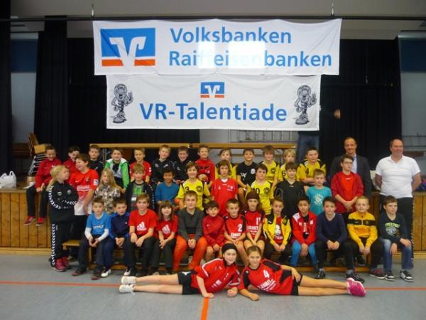 Gruppenfoto zur Talentiade am 16.02.2014