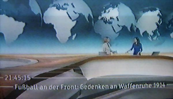 FC Emmendingen in Belgien: Friedensspiel in Ypern - Bericht im ZDF-Heute-Journal am Sonntag um 21.45 Uhr