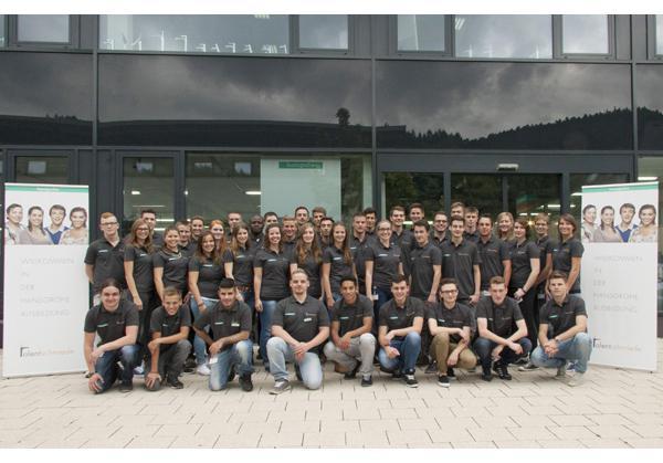 Schiltach: 43 neue Auszubildende in der Hansgrohe Talentschmiede ...