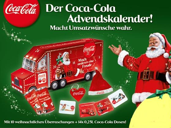 emmendingen der coca cola adventskalender jetzt erh ltlich bei getr nke g ler regiotrends. Black Bedroom Furniture Sets. Home Design Ideas