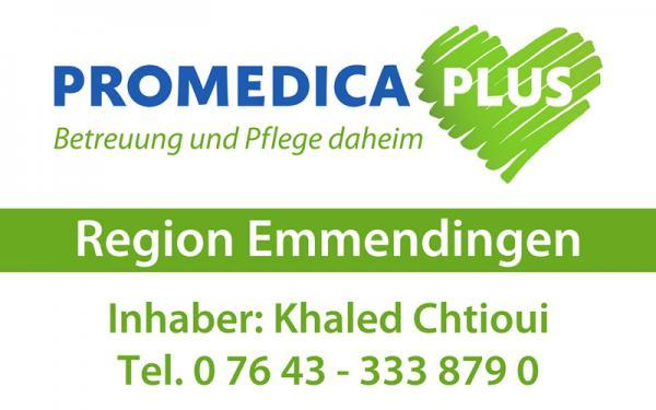 """PROMEDICA PLUS Region Emmendingen, Khaled Chtioui (""""badisch"""": Kaled Schtiwi), In den Herrengütern 10, 79336 Herbolzheim, Tel. 07643/3338790"""