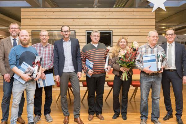 Bahlingen: Maier Küchen ehrt langjährige Mitarbeiter ...