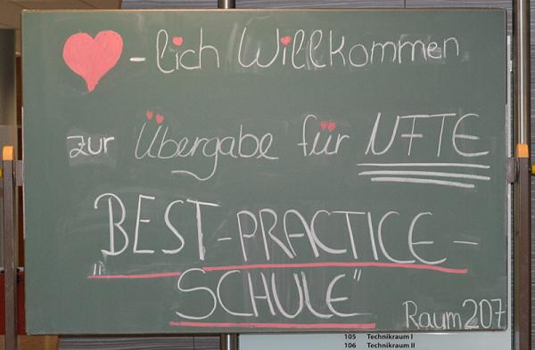 """Auszeichnung für die Fritz-Boehle-Schule als """"Best Practice Schule für Unternehmergeist"""""""