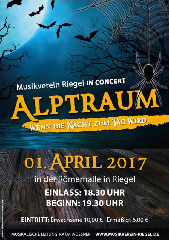 Frühjahrskonzert Musikverein Riegel in der Römerhalle in Riegel