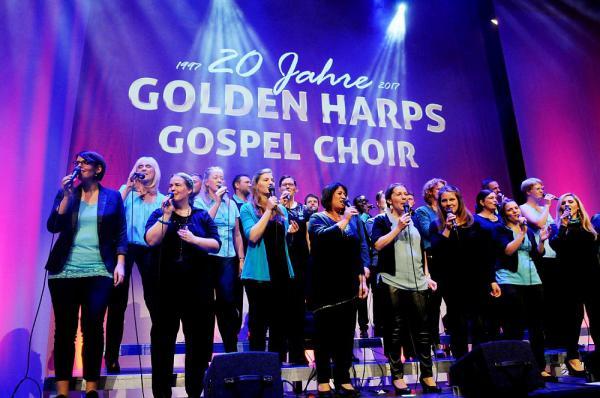 20. Mai: 20 Jahre Golden Harps Gospel Choir - Konzert in der Freien Evangelischen Gemeinde Freiburg  Foto: GOLDEN HARPS Gospel Choir