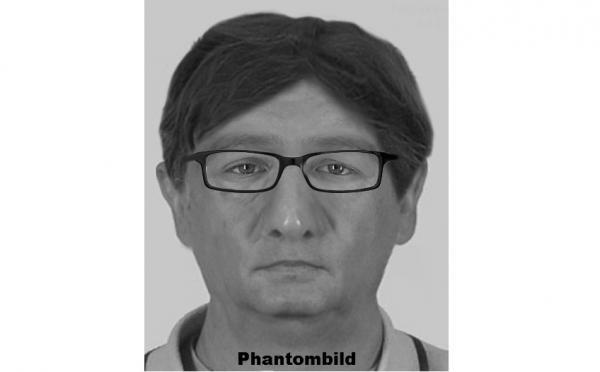 Phantombild Soko Erle - Wer kennt diese Person? Quelle: Polizeipräsidium Freiburg