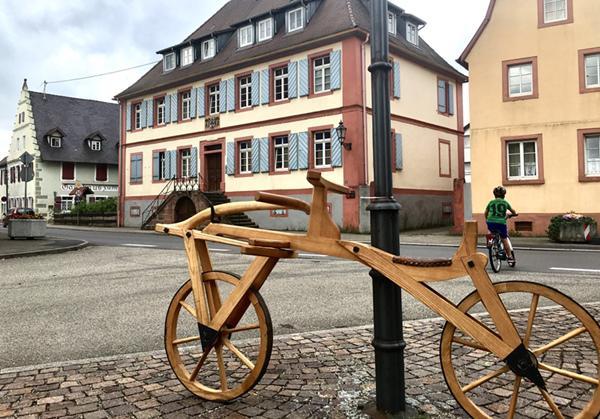 Das Amtshaus in Schuttern in dem Karl Drais sein Büro hatte.  Foto: Helmut Schönberger