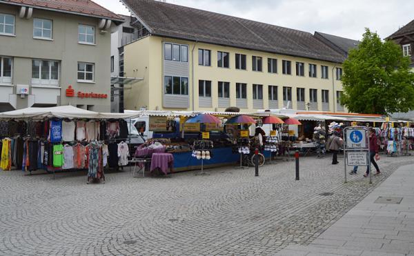 Emmendingen kr mermarkt in emmendingen auf dem marktplatz for Emmendingen industrie