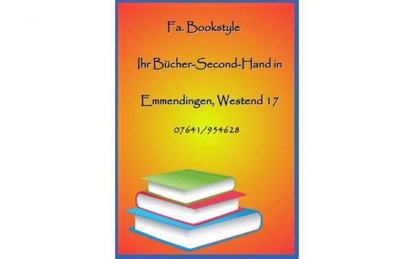 Fa. Bookstyle, Almut Engler, Westend 17, 79312 Emmendingen, Tel.: 07641/954628, bookstyle@web.de www.bookstyle.de www.facebook.com/Bookstyle www.amazon.de/shops/bookstyle-em