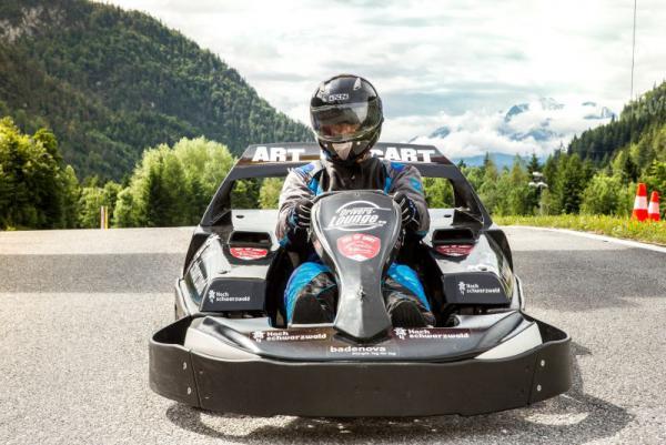 Premiere am Schluchsee: Badenova Hochschwarzwald e-cart trophy