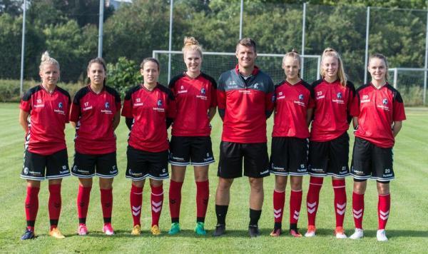 SC Frauen: Start in die neue Spielzeit 2017/18   Foto: SCF