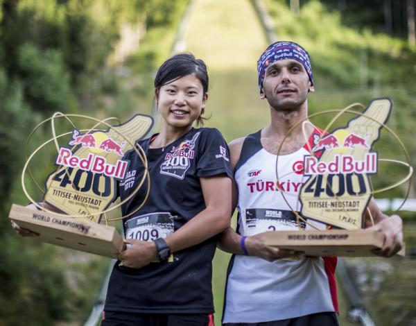 Weltmeister: Yukari Tanaka (Japan) und Ahmet Arslan (Türkei)