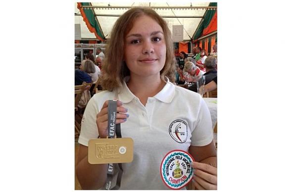 Nathalie Groß (Deutsche Meisterin und Europameisterin)