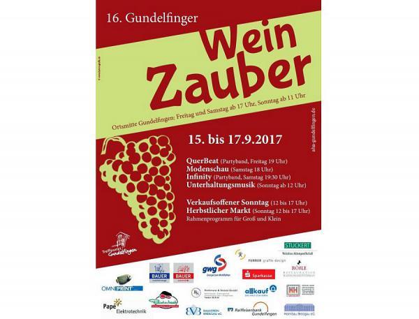 16. Gundelfinger WeinZauber 2017 Foto: Gewerbeverein Gundelfingen