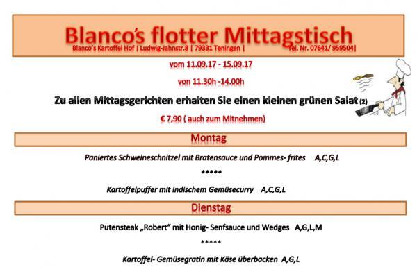 Blanco's Kartoffel Hof, Ludwig-Jahn-Str. 8, 79331 Teningen, 07641/959504, www.kartoffel-hof.com, info@kartoffel-hof.com
