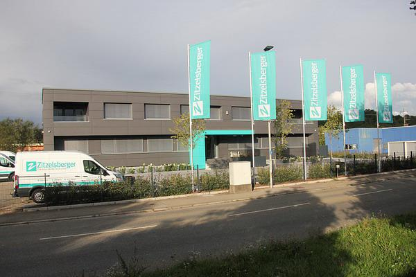 SEHENSWERT! Das neu gestaltete Firmengebäude des Unternehmens ZITZELSBERGER (Am Elzdamm)
