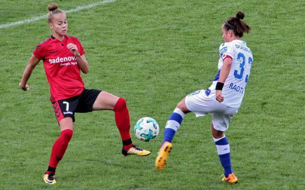 Bundestrainerin Jones beruft erstmals Giulia Gwinn (SC Freiburg) in Frauen-Nationalmannschaft - U-20-Juniorin im Kader für Länderspiel gegen Frankreich (24. November)  REGIOTRENDS-Archivfoto