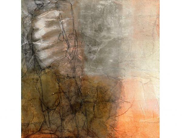 """24. November: Eröffnung der Ausstellung """"GE - SCHICHTE – TES"""" - Malerei von Lilli Röckle   Foto: Lilli Röckle"""