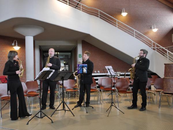 Das Raschèr Saxophon Quartett