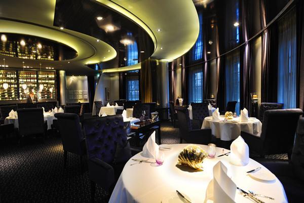 """Das """"Ammolite – The Lighthouse Restaurant"""" – das einzige 2-Sterne Restaurant in einem Freizeitpark weltweit.  Foto: Europa-Park"""