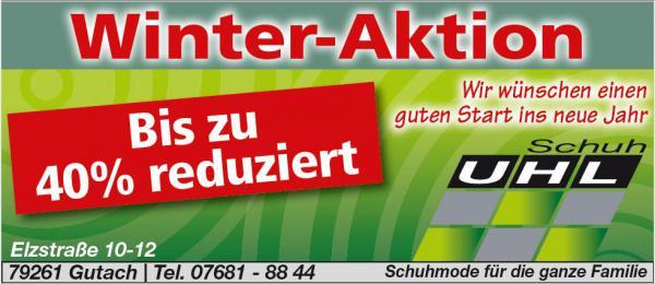 Schuh Uhl, Elzstraße 10-12, 79261 Gutach, Tel. 07681-8844