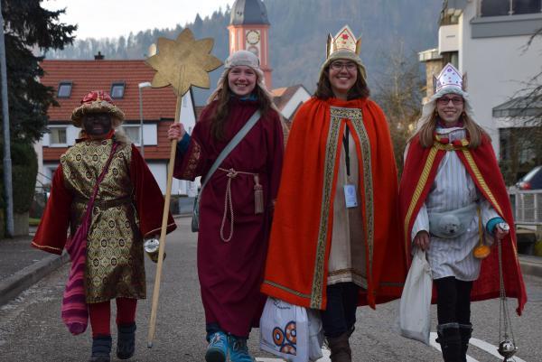 Ab 3. Januar sind sie in Waldkirch unterwegs-die Sternsinger