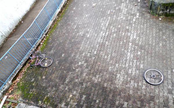 Vandalismus in Bereich der Wintersbuckstraße  Foto: Polizei