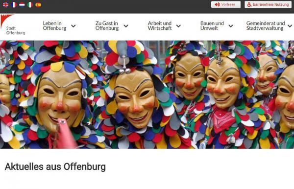 Neu gestalteter Internetauftritt der Stadt Offenburg   Foto: Stadt Offenburg