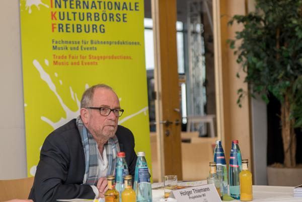 Internationale Kulturbörse vom 21. bis 24. Januar feiert 30-jähriges Bestehen - Projektleiter Holger Thiemann informiert letztmals über die Details der Kulturbörse.