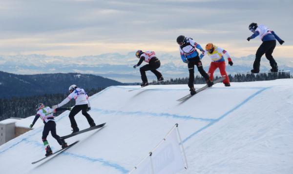 FIS Snowboard Cross Weltcup am Feldberg  Bild: Hochschwarzwald Tourismus GmbH