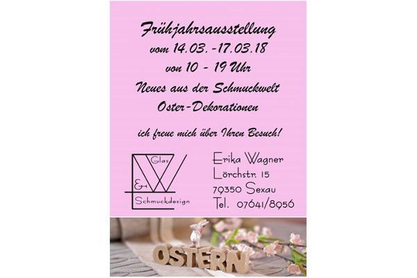 Glas- und Schmuckdesign, Erika Wagner, Lörchstraße 15, 79350 Sexau, Tel. 07641/8956