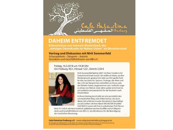 """DAHEIM ENTFREMDET - Erkenntnisse aus meinem Mutterland, der """"einzigen Demokratie im Nahen Osten"""" als Besatzerstaat"""