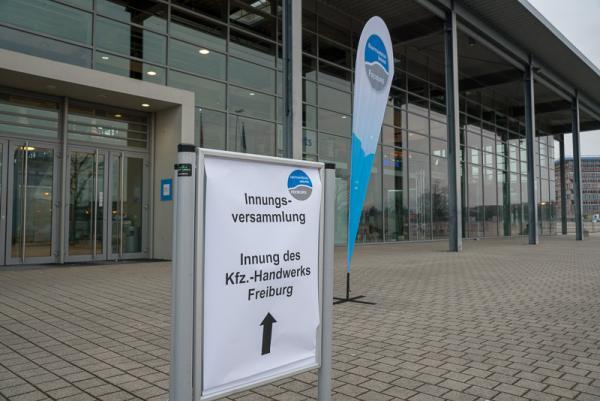 Innungsversammlung der KFZ-Innung Freiburg