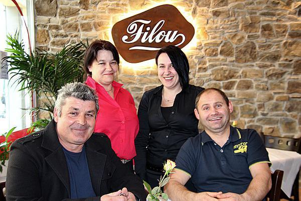 Filou - DAS Restaurant in Denzlingen: Liliana Peslar (links)und ihr Team