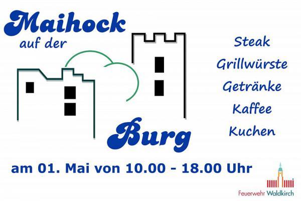 1. Mai: Maihock auf der Kastelburg - Die Freiwillige Feuerwehr Abteilung Waldkirch lädt ein  Foto: Feuerwehrabteilung Waldkirch