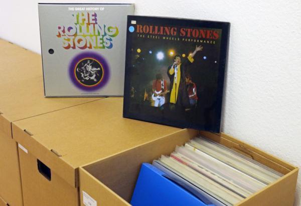 As Years Go By – Reinhold Karpp Rolling Stones Collection  ++ Ausstellung der Sparkasse Freiburg-Nördlicher Breisgau vom 3. Mai bis 1. Juni   Bild: Max Orlich, Uni Freiburg