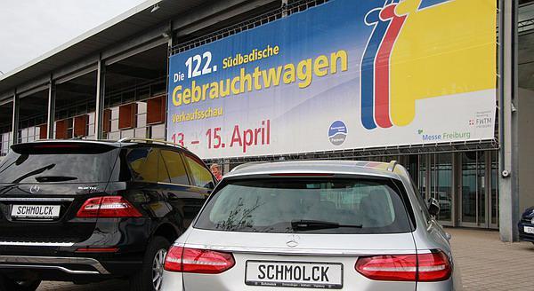 122. Südbadische Gebrauchtwagen-Verkaufsschau in Freiburg - Mit dabei: REGIOTRENDS-Partner Autohaus Schmolck (Emmendingen, Müllheim, Vogtsburg)  Bild: FSRM