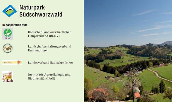 Bis 14. Mai anmelden: Wiesenmeisterschaft 2018 im Naturpark Südschwarzwald für Landwirte aus dem Landkreis Emmendingen  Flyer  Foto: ZweiTälerLand Tourismus