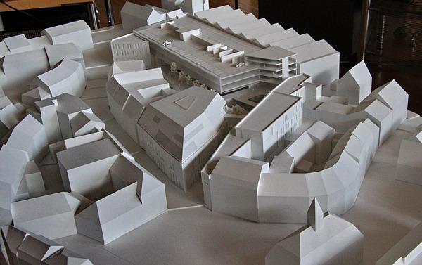 """Gestaltungskonzept """"Neuer Markt"""" (Maßstab 1:200)   Bild: Reinhard Laniot / REGIOTRENDS-Lokalteam """"EM-extra"""""""