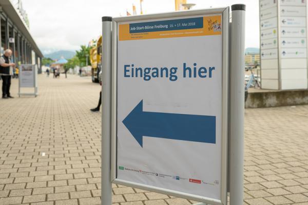 Jobstartbörse Freiburg eröffnet