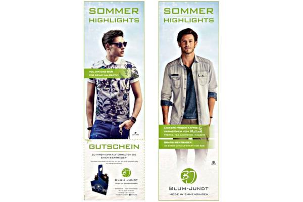 Modehaus Blum-Jundt, Marktplatz 8, 79312 Emmendingen, Tel 07641/9247-0, Fax 07641/9247-47, www.blum-jundt.de